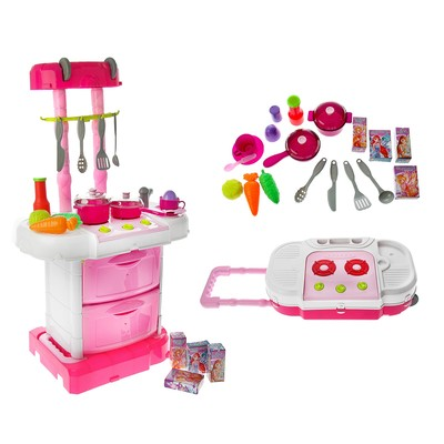 "Game module ""the Magic kitchen-bag"" WINX fairies, 18 items + stickers SL-00943 287"