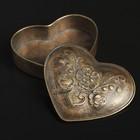 Шкатулка Antique heart