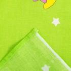 """Постельное бельё детское """"Мишки на облаках"""", цвет зеленый, 112×147, 100×150, 40×60 1 шт, бязь, хл100 120 - фото 7397667"""