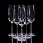 """Набор бокалов для шампанского """"Классик"""", 6 шт, 210 мл - фото 308062629"""