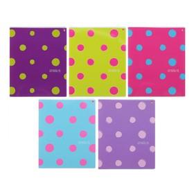 Тетрадь 48 листов в клетку «FRESH. Яркое настроение», обложка мелованный картон, УФ-лак, МИКС