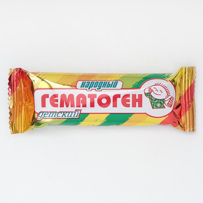 """Гематоген """"Народный"""" детский, 40 г. - фото 15797"""