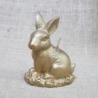 Свеча Кролик Пасхальный 7,5х10 золото