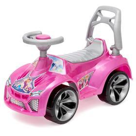 Толокар «Машина Ламбо», цвет розовый