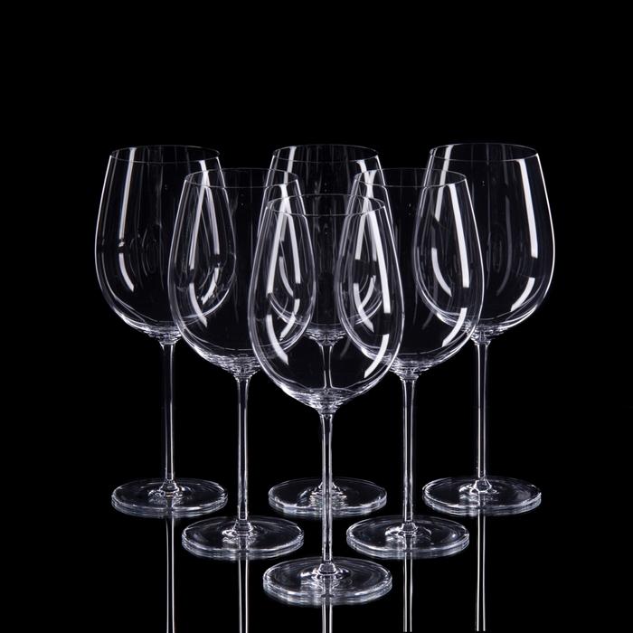 "Набор бокалов для бордо ""Классик"", 6 шт, 650 мл"