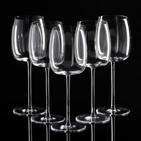 Set of glasses for red wine, 6 pcs., 350 ml.