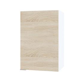 Шкаф с полками, 400 × 300 × 600 мм, цвет белый / дуб сонома