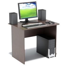 Компьютерный стол, 900 × 600 × 740 мм, цвет венге