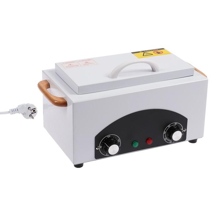 Стерилизатор маникюрного инструмента LuazON LGS-04, сухожаровой шкаф, нагрев до 200 °C,