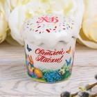 """Box-cake """"happy Easter!"""", 6 x 6.5 cm"""