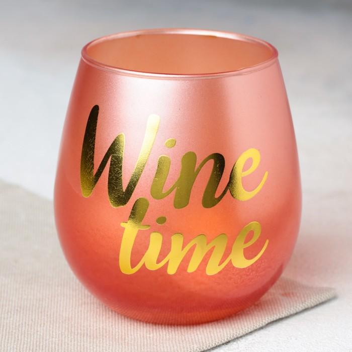 """Стакан """"Wine time"""", 400 мл"""