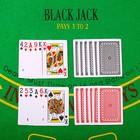 Карты игральные пластиковые Royal, 54 шт., 25 мкм, 8,7 × 5,7 см, пластиковая коробка, микс