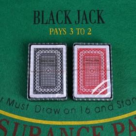 Карты игральные пластиковые Royal Classic, 54 шт., 25 мкм, 8,8 × 6,3 см, микс