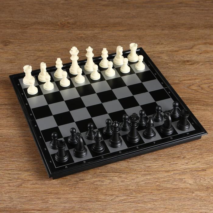 """Игра """"Шахматы"""", магнитная доска 32х32 см"""