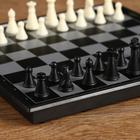 """Настольная игра 3 в 1 """"Классика"""": шахматы, шашки, нарды, магнитная доска 20х20 см - фото 105616880"""