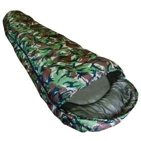 Спальный мешок туристический Novus Camo, 190 x 80 x 55  см, 250 г/м2, не ниже 0 С