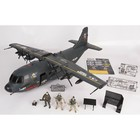 Игровой набор «Военно-транспортный самолёт», 3-мя фигурками