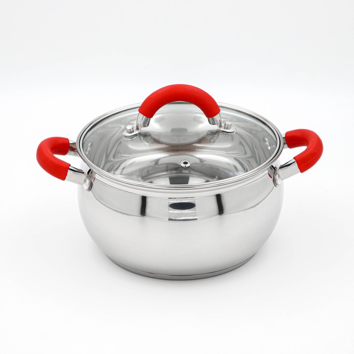 """Pan """"Werner"""" 2.5 l 18 cm with glass lid"""