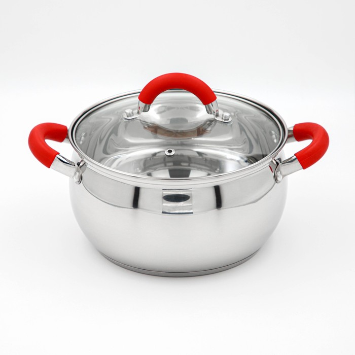 """Pan """"Werner"""" 3.5 l 20 cm with glass lid"""