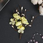 """Цветы вишни из ткани """"КРЕМОВЫЕ"""" (набор 2 шт) - фото 282122838"""