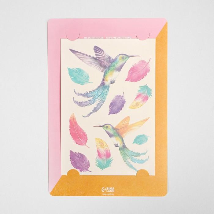Наклейки‒переводки Colibri, 14 × 21 см