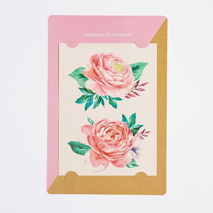 Наклейки‒переводки  Roses, 14 × 21 см   4123177