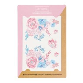 Наклейки‒тату «Розовые мечты», 14 × 21 см