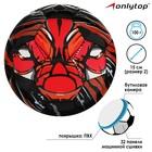 "Soccer ball ONLITOP ""Tiger"" p. 2, 100 g, 32 panel, PVC, butyl camera"