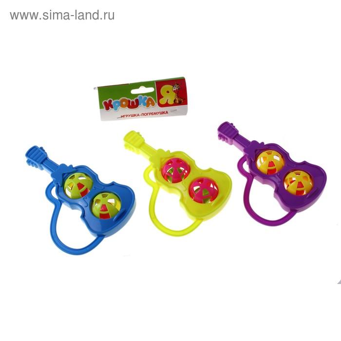 """Игрушка-погремушка """"Гитара"""", цвета МИКС"""