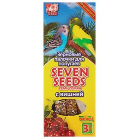 Seven Seeds sticks for parrots with cherries, 3 pcs, 90 g