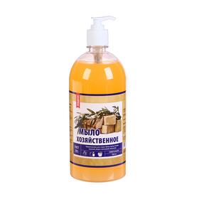 Жидкое мыло хозяйственное дозатор, 1 л