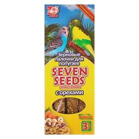 Палочки Seven Seeds для попугаев, орехи, 3 шт, 90 г