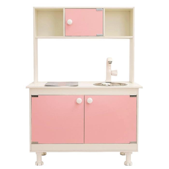 Игровая мебель «Кухонный гарнитур SITSTEP», цвет розовый - фото 36949877