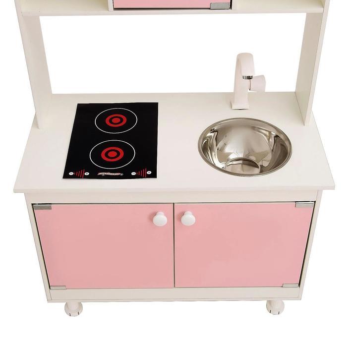 Игровая мебель «Кухонный гарнитур SITSTEP», цвет розовый - фото 36949878