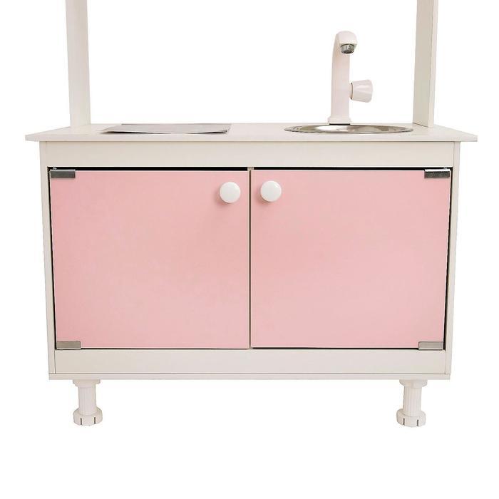 Игровая мебель «Кухонный гарнитур SITSTEP», цвет розовый - фото 36949881