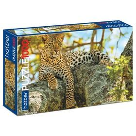 Пазл 1000 элементов «Леопард»