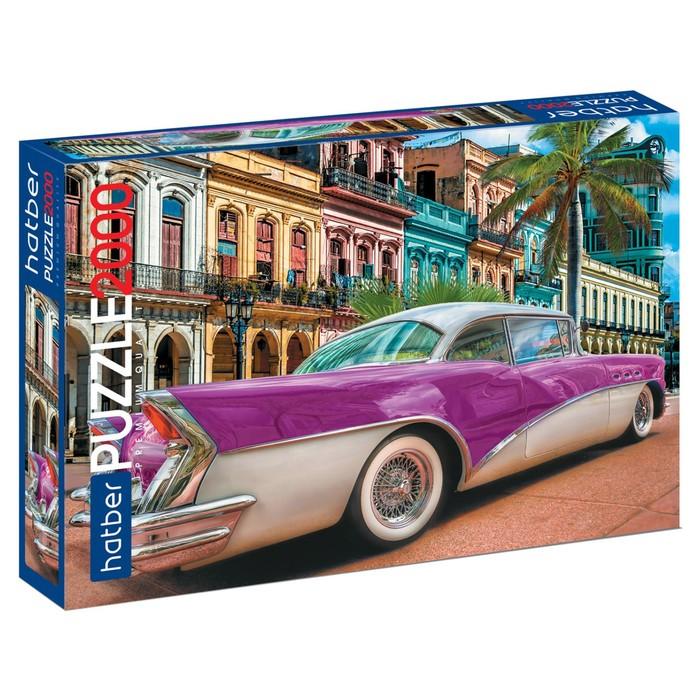 Пазл 2000 элементов «Ретро автомобиль»