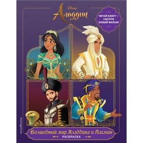 Раскраска «Волшебный мир Аладдина и Жасмин»