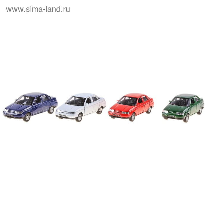 Модель машины Lada, масштаб 1:34-39, цвета МИКС