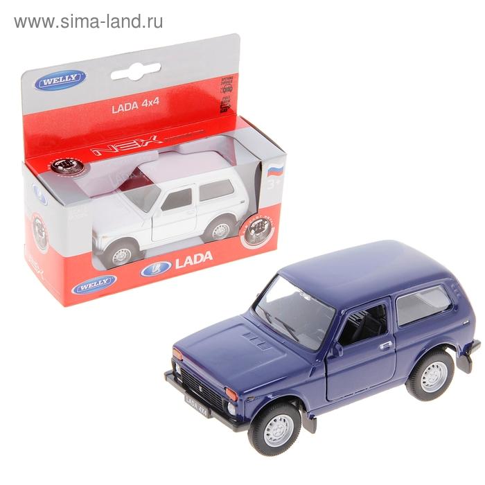 """Модель машины """"Lada"""" масштаб 1:34-39, цвета МИКС"""