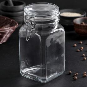 Jar with lid 1.3 L Kremlin
