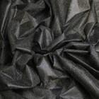 Флизелин, ширина 90 см, цвет чёрный, 20 г/кв.м