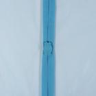 Сетка антимоскитная 80×210 см на магнитах, цвет синий - фото 4665179