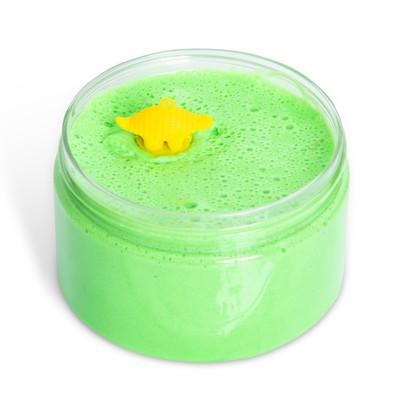 Лизун «Слайм Флаффи» зелёный с игрушкой, 250 мл