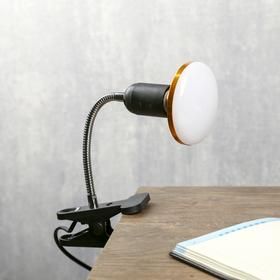 Настольная лампа на прищепке 1хЕ27 40Вт черный