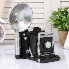 "Копилка полистоун ""Старая фотокамера"" 20,5х17х13 см"