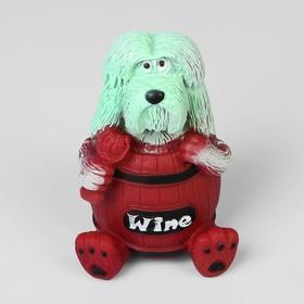 "Игрушка пищащая ""Собака WINE"" 13,5 см"