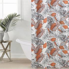 Shower curtain Jungle, 180х180 cm, EVA