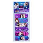 Набор закладкок магнитных 6шт KIDIS серия серия SUPER MODEL (девушки)