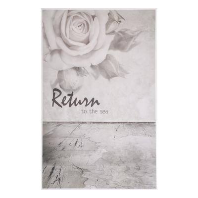 "Фотофон винил ""Роза на сером"" стена+пол 125х80 см"
